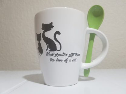 What Greater Gift than the Love of a Cat - Lime Green