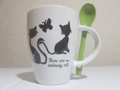 There are no Ordinary Cats - Lime Green